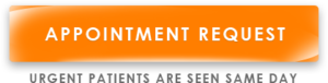 Orange Appointment Request Button