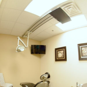 televisions amenities dental office