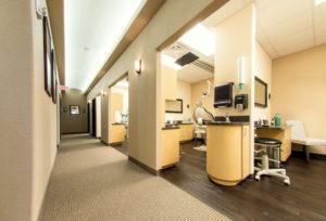 prestige office hallway